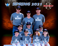 Lil' Bulldogs team