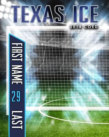 Texas Ice Background